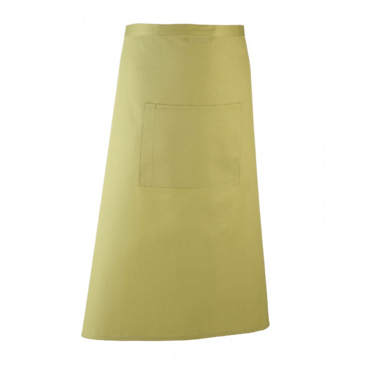 Colours Hospitality Apron - pr158_lime