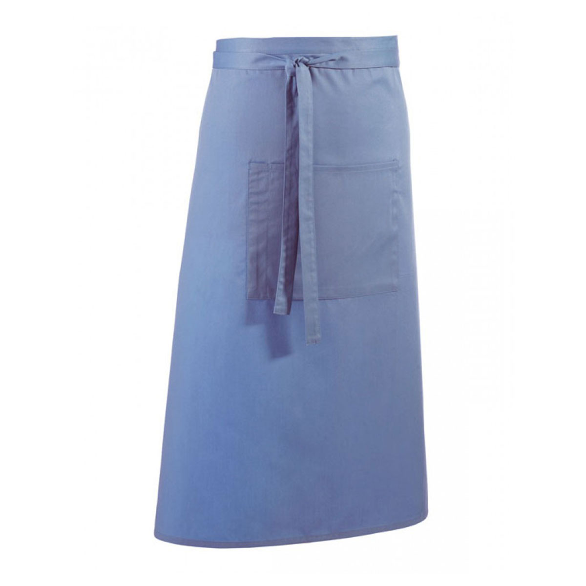 Colours Hospitality Apron - pr158_mid-blue