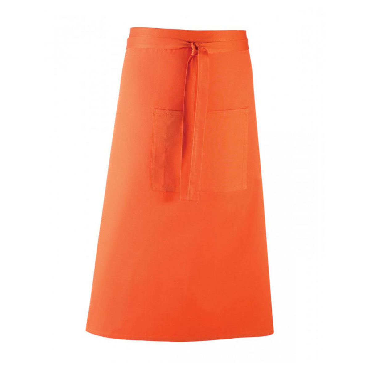 Colours Hospitality Apron - pr158_orange