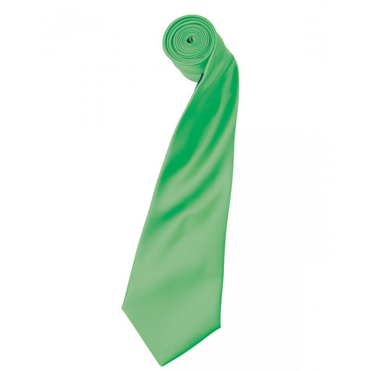 Colours Satin Tie - pr750-apple