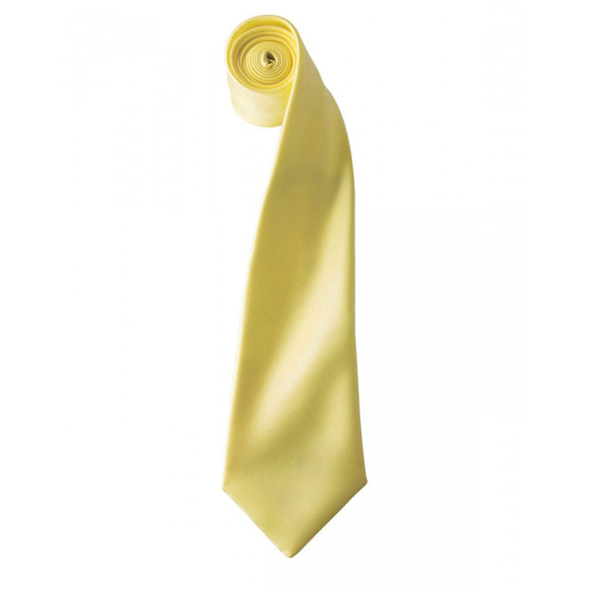 Colours Satin Tie - pr750-lemon