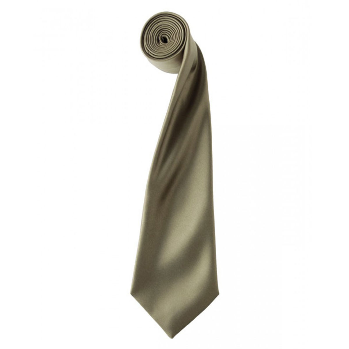 Colours Satin Tie - pr750-sage