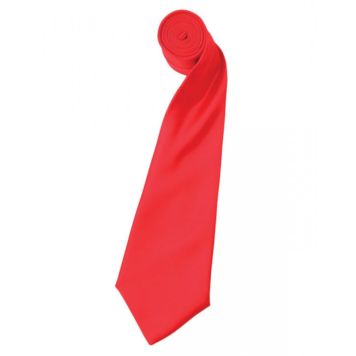Colours Satin Tie - pr750-strawberry