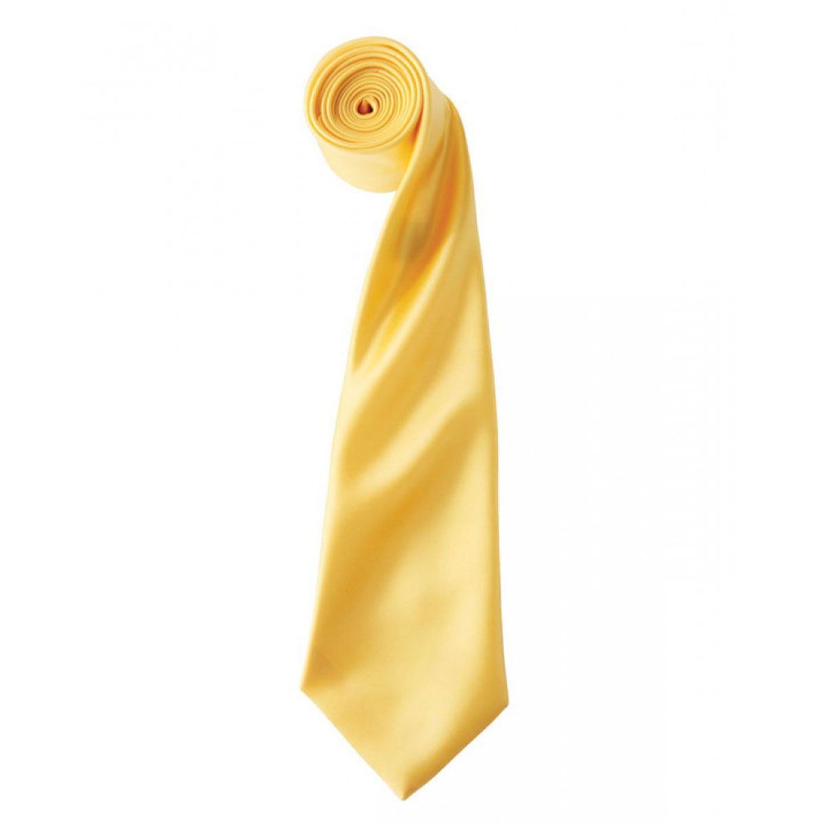 Colours Satin Tie - pr750-sunflower