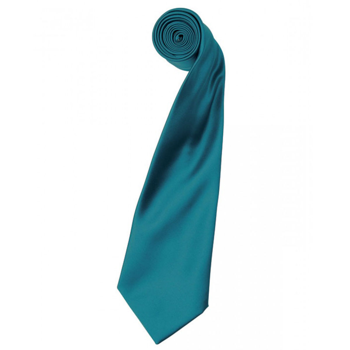 Colours Satin Tie - pr750-teal