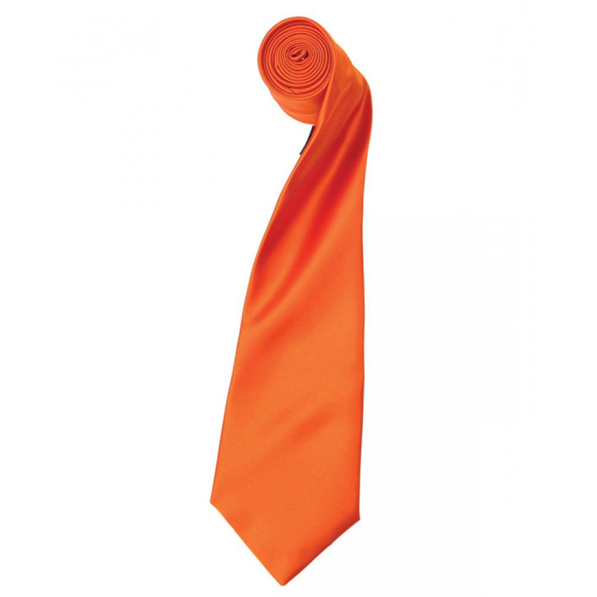 Colours Satin Tie - pr750-terracotta