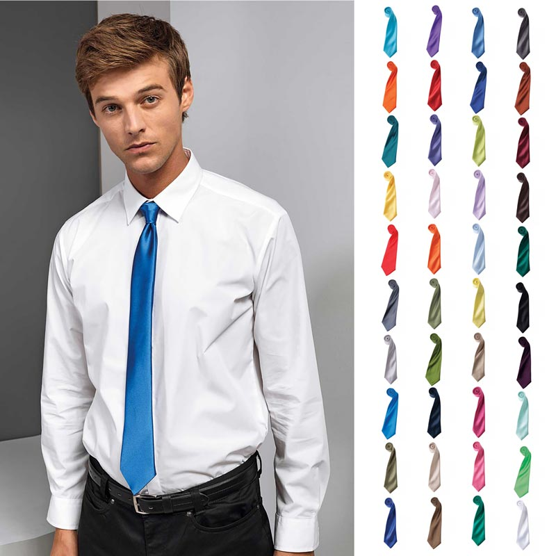 Colours Satin Tie - pr750