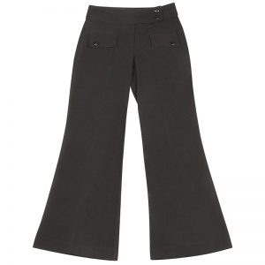 Girls School Trousers Stretch 2-Flap Bootleg - CTRG111