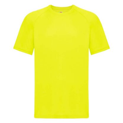 (Poly) Performance T-Shirt - FPTA - 61-390-bright-yellow