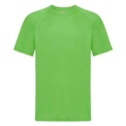 (Poly) Performance T-Shirt - FPTA - 61-390-lime