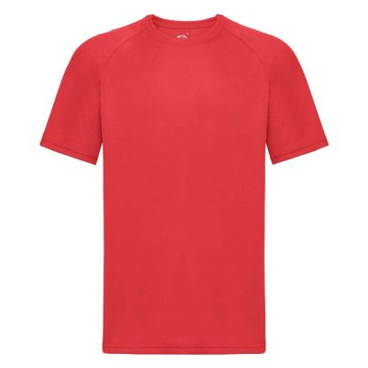 (Poly) Performance T-Shirt - FPTA - 61-390-red