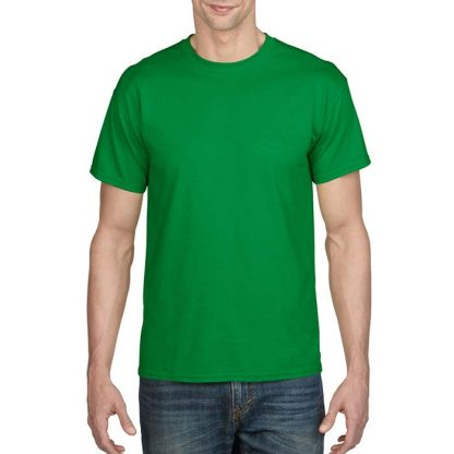 DryBlend Poly-Cotton T-Shirt - GD20 - 8000-Adult-T-Shirt-Irish-Green