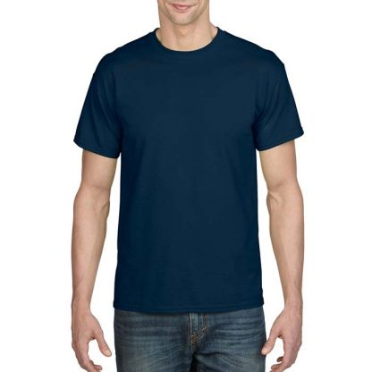 DryBlend Poly-Cotton T-Shirt - GD20 - 8000-Adult-T-Shirt-Navy