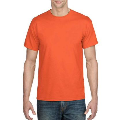 DryBlend Poly-Cotton T-Shirt - GD20 - 8000-Adult-T-Shirt-Orange