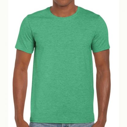 Adult Softstyle T-Shirt - GD01-G64000-heather-irish-green