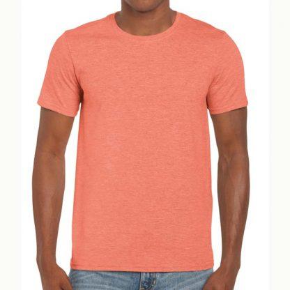 Adult Softstyle T-Shirt - GD01-G64000-heather-orange