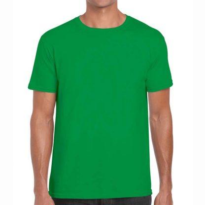 Adult Softstyle T-Shirt - GD01-G64000-irish-green