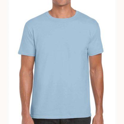 Adult Softstyle T-Shirt - GD01-G64000-light-blue