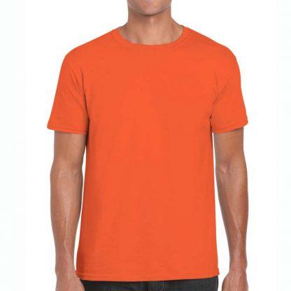 Adult Softstyle T-Shirt - GD01-G64000-orange