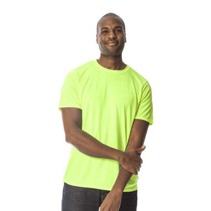 Performance Adult T-Shirt - GD120-G42000-safety-green