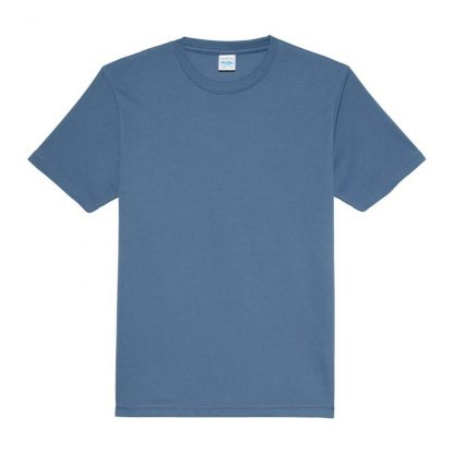JUST COOL Polyester Cool T - JC001-AIRFORCE-BLUE-(FLAT)