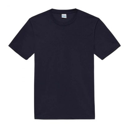 JUST COOL Polyester Cool T - JC001-FRENCH-NAVY-(FLAT)