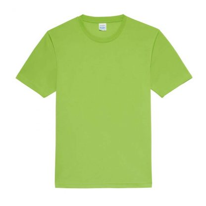 JUST COOL Polyester Cool T - JC001-LIME-GREEN-(FLAT)