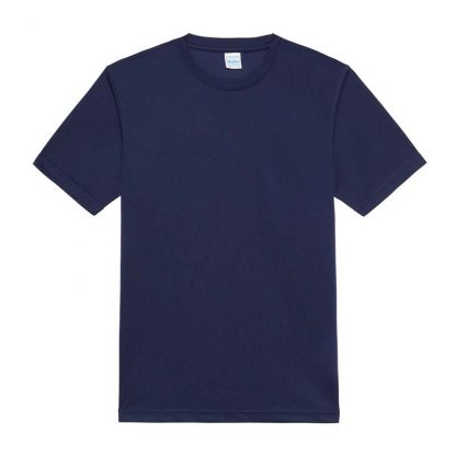 JUST COOL Polyester Cool T - JC001-OXFORD-NAVY-(FLAT)