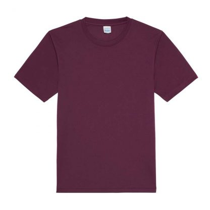 JUST COOL Polyester Cool T - JC001-PLUM-(FLAT)