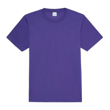 JUST COOL Polyester Cool T - JC001-PURPLE-(FLAT)