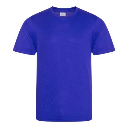 JUST COOL Polyester Cool T - JC001-REFLEX-BLUE-(FRONT)