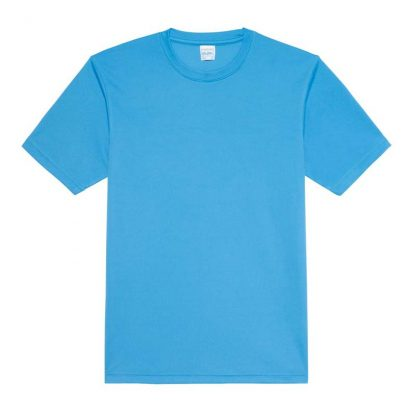 JUST COOL Polyester Cool T - JC001-SAPPHIRE-BLUE-(FLAT)