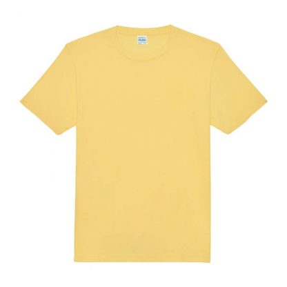 JUST COOL Polyester Cool T - JC001-SHERBET-LEMON-(FLAT)