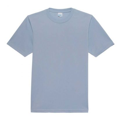 JUST COOL Polyester Cool T - JC001-SKY-BLUE-(FLAT)