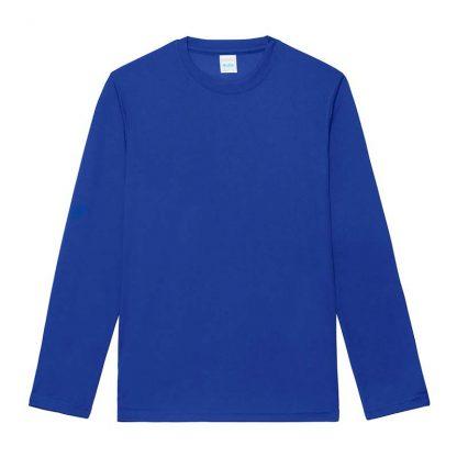 Long SLeeve Cool T-Shirt - JC002-ROYAL-BLUE-(FLAT)