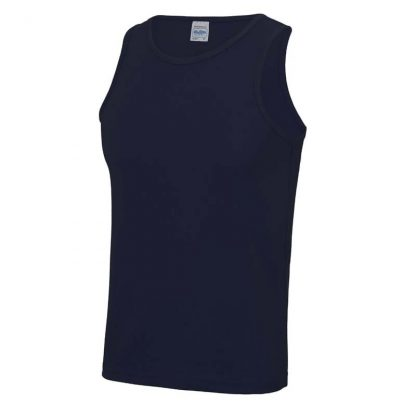 Polyester Cool Vest - JC007-FRENCH-NAVY-(FRONT)