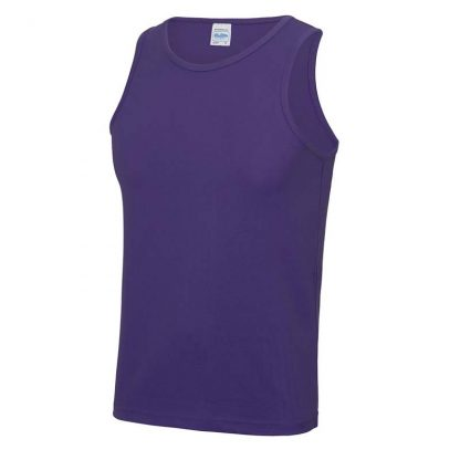 Polyester Cool Vest - JC007-PURPLE-(FRONT)