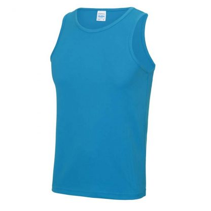Polyester Cool Vest - JC007-SAPPHIRE-BLUE-(FRONT)