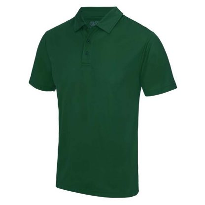 Cool Polo - JC040-BOTTLE-GREEN-(FRONT)