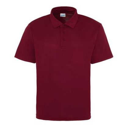 Cool Polo - JC040-BURGUNDY-(FRONT)