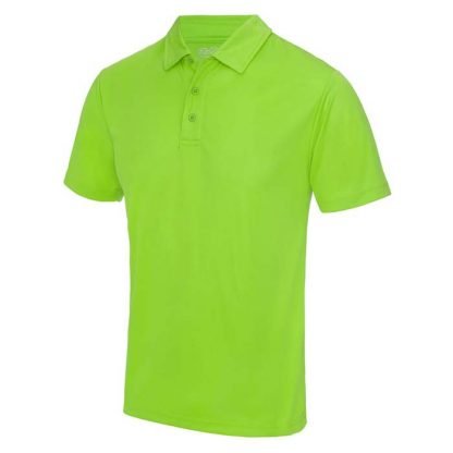 Cool Polo - JC040-ELECTRIC-GREEN-(FRONT)