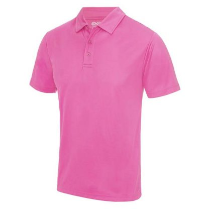 Cool Polo - JC040-ELECTRIC-PINK-(FRONT)