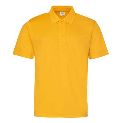 Cool Polo - JC040-GOLD-(FRONT)
