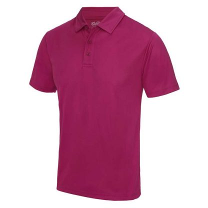 Cool Polo - JC040-HOT-PINK-(FRONT)