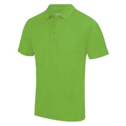 Cool Polo - JC040-LIME-GREEN-(FRONT)