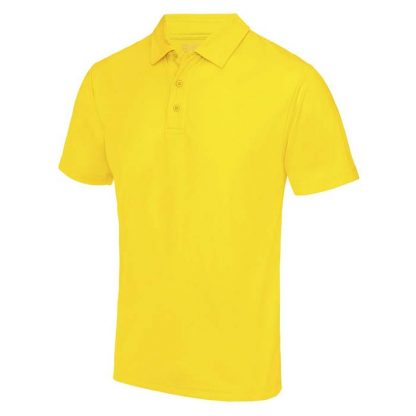 Cool Polo - JC040-SUN-YELLOW-(FRONT)