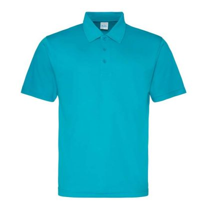 Cool Polo - JC040-TURQUOISE-BLUE-(FRONT)