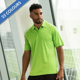 Cool Polo - JC040_ELECTRIC-GREEN_JC080_JET-BLACK