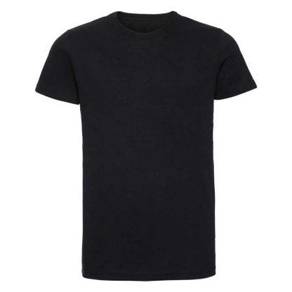 HD T-Shirt - Slim Fit, Soft Finish Poly-Cotton - JTA165 - R_165M_black_front