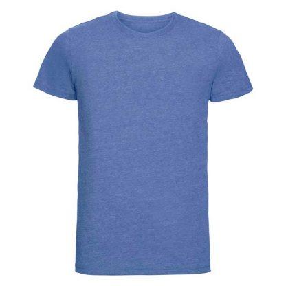 HD T-Shirt - Slim Fit, Soft Finish Poly-Cotton - JTA165 - R_165M_blue-marl_front